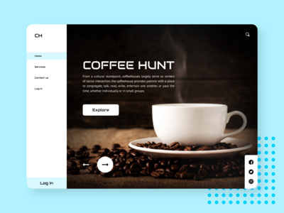Coffee hunt website