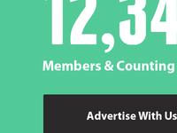 Presslist Subscriber Count & Advertise CTA