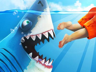 Hungry Shark World - Icon Development