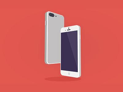 Iphone apple graphic design c4d 3d app mobile iphone flat vector design illustration