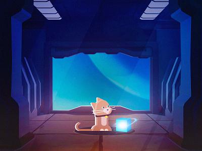 Goose the Flerken captain marvel goose pet design cartoon graphic design character flat vector illustration art cat