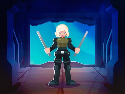 Black Widow marvel abstract black widow graphic design character design flat vector illustration character cartoon avengers art
