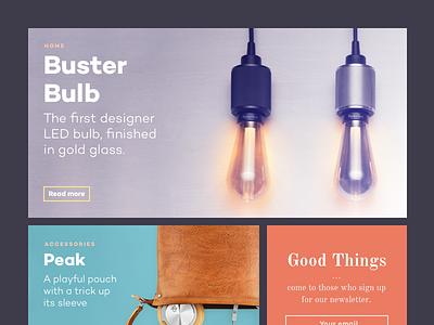 Design & Tech Magazine template webdesign website grid magazine freebie download template psd sketch technology design