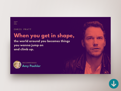 Quote Website Concept Preview design quote sketch psd template download freebie concept website webdesign