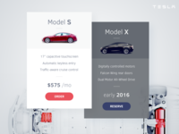 Pricing Table Tesla