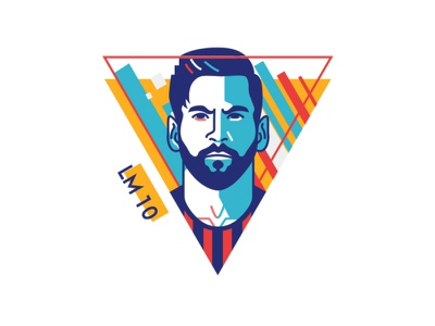 messi avatardesign logo flatillustration flaticon flatdesign football fcbarcelona messi lionel messi