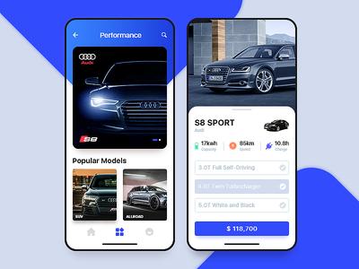 Automotive Concept Application