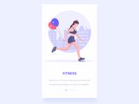 Fitness illustration