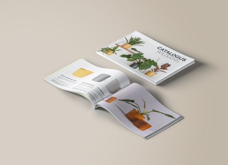 Catalogue design for Wildernis