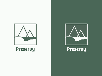 Logo   Preservy app nature branding illustration logo