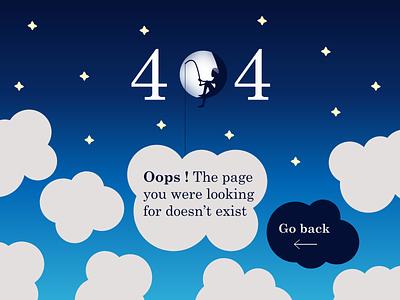 404 page ui design sky clouds blue error 404 404 page daily ui