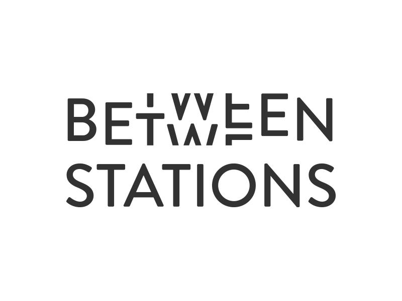 Between Stations Logo logotype logo
