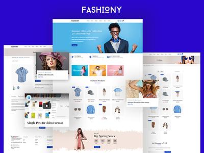 Fashiony - Fashion Ecommerce Theme creative online shop online store shopping cart business joomla template joomlabuff ecommerce webdesign joomla