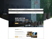 Interrio - Interior design Joomla Template