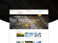 Industries Joomla Template