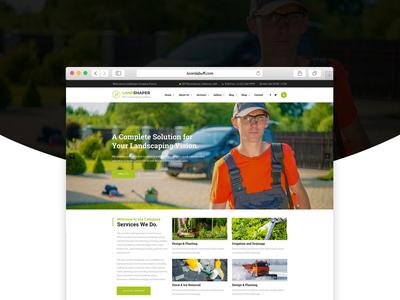The Landshaper - Gardening, Lawn & Landscaping Joomla Theme
