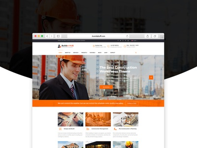 Builderhub - Construction Business Joomla Template