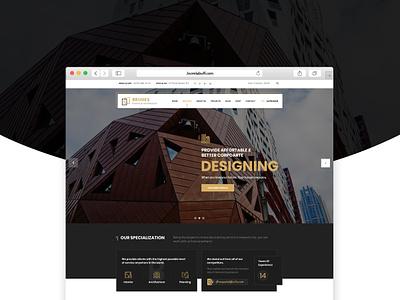 Bruges - Architecture & Interior Design Joomla Template joomlabuff webdesign architecture interior design joomla