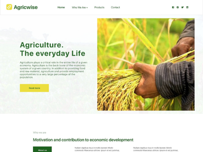 Farm web design user experience user interface web agriculture website web design uiux ui