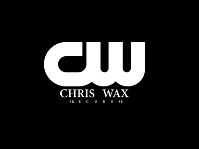 chris wax records logodesginer photoshop adobexd logotype logo