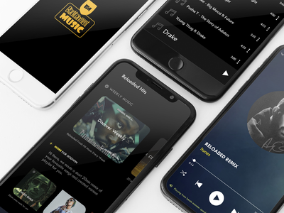 Music App UI mobile app design hire me drake freelance designer uiux ui music player music app adobexd
