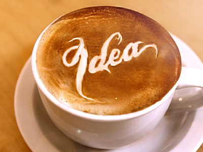 A Warm Cup of Coff— er, Idea  illustrator idea cup coffee goodness yummy photorealistic photorealism photoshop fireworks