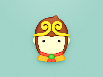 Wukong Ins icon yellow wukong monkey