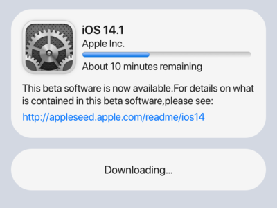 Updating ios 13 ios ios 14
