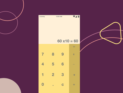 Calculator icon ui ux design branding app