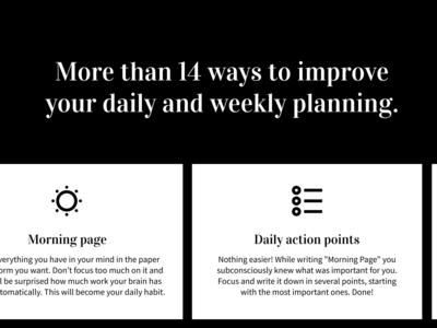 Stress-free Planner