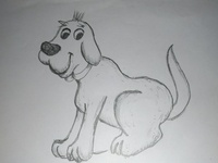 Cartoon Dog Drawing