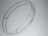 D Shape Ring Art