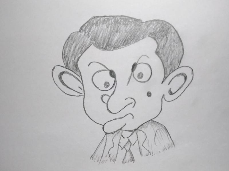 Mr Bean Cartoon Art By Mlspcart On Dribbble