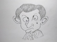 Mr.Bean Cartoon Art