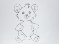 Cartoon Bear Drawing