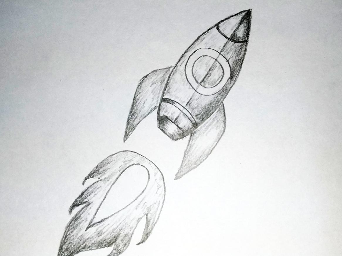 Rocket Art By Mlspcart On Dribbble