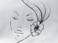 Female Face Art