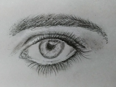 Realistic Eye Art