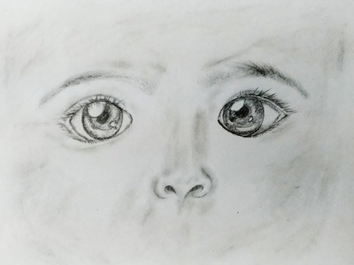 Children Face Art