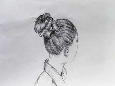 Beautiful Hairstyle Art