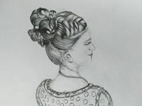 Realistic Hair Art