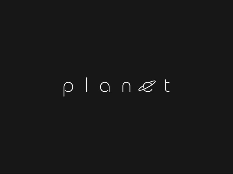 Minimal Planet Logo