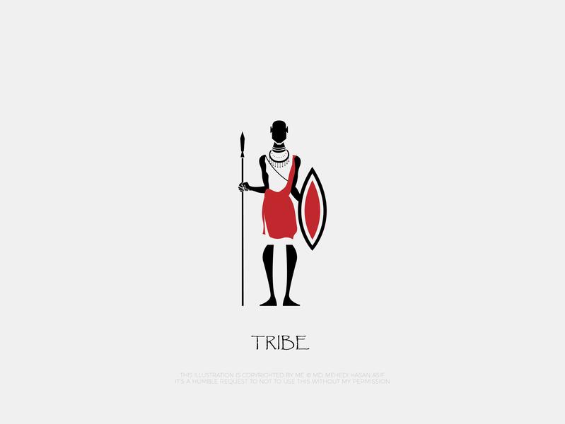 Tribe Minimal Logo
