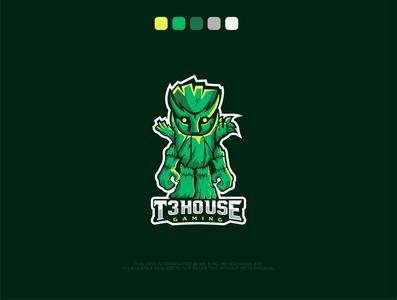 T3HOUSE gaming Logo