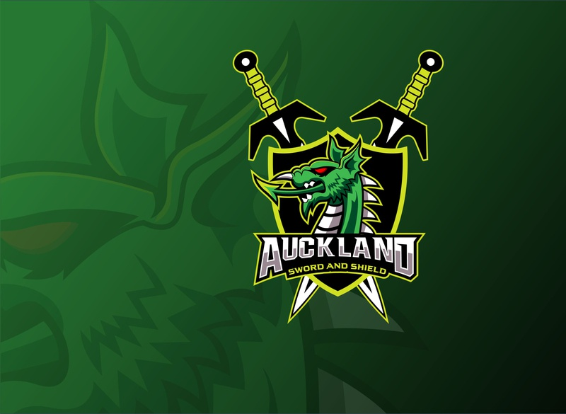 Auckland Sword and Shield Logo