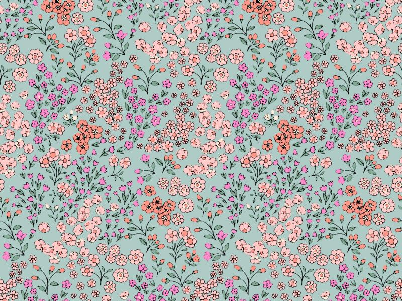 Primrose Pattern by Melanie Hodge on Dribbble