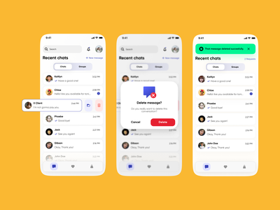 Chatting concept app