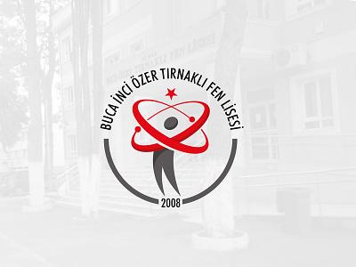 Buca Fen Lisesi Logo Tasarımı logodesign logo tasarımı school logo design school design amblem design logoloji logo logo design okul logo