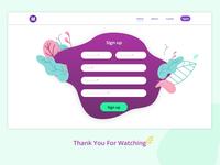 Babysitter Website (Sign Up Page)