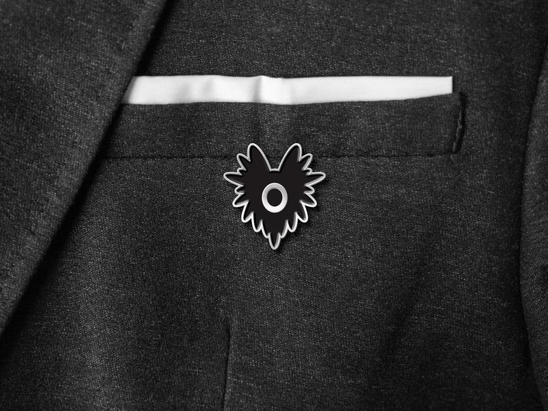 Strange Folks Pin